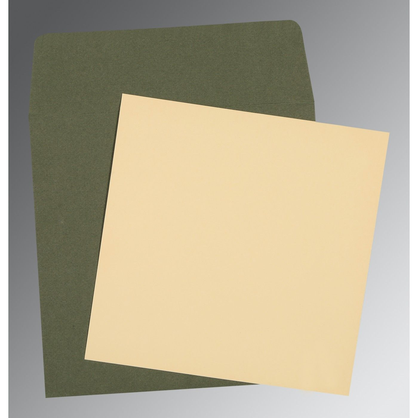OFF-WHITE MATTE PERSONAL INVITATIONS : CP-0004 - IndianWeddingCards