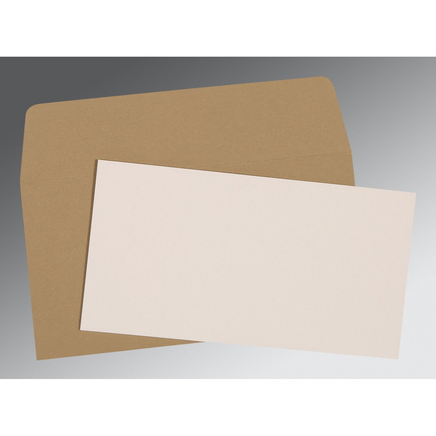 WHITE MATTE PERSONAL INVITATIONS : CP-0024 - IndianWeddingCards