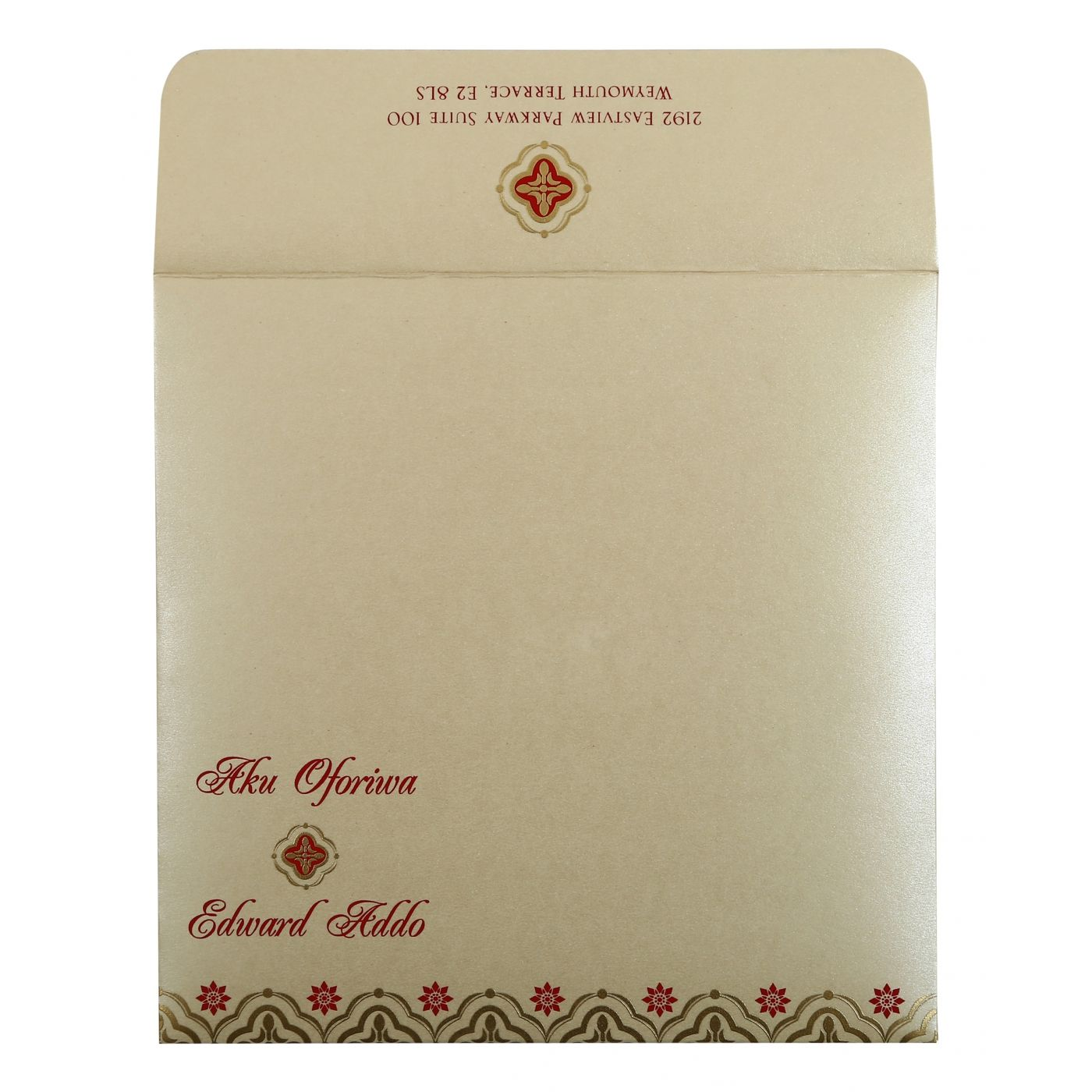 WEDDING INVITATION : CC-805E - IndianWeddingCards