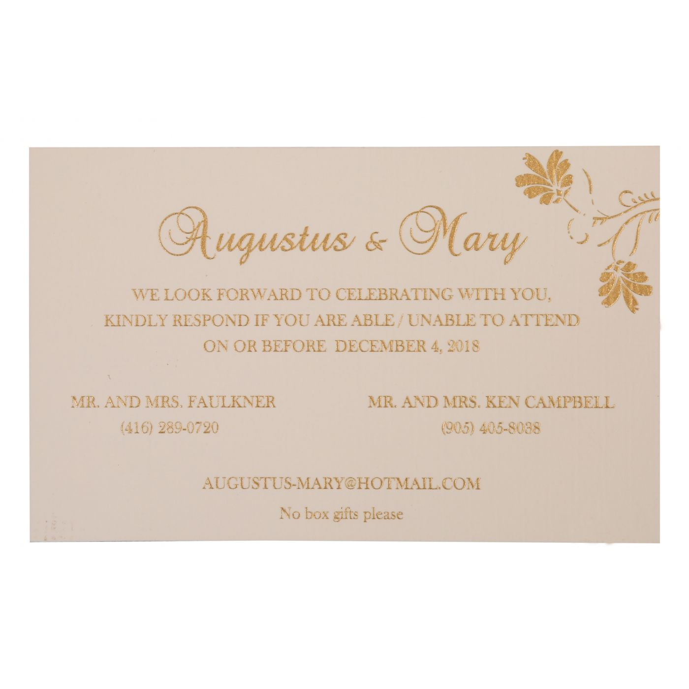 WEDDING INVITATION : CC-803E - IndianWeddingCards