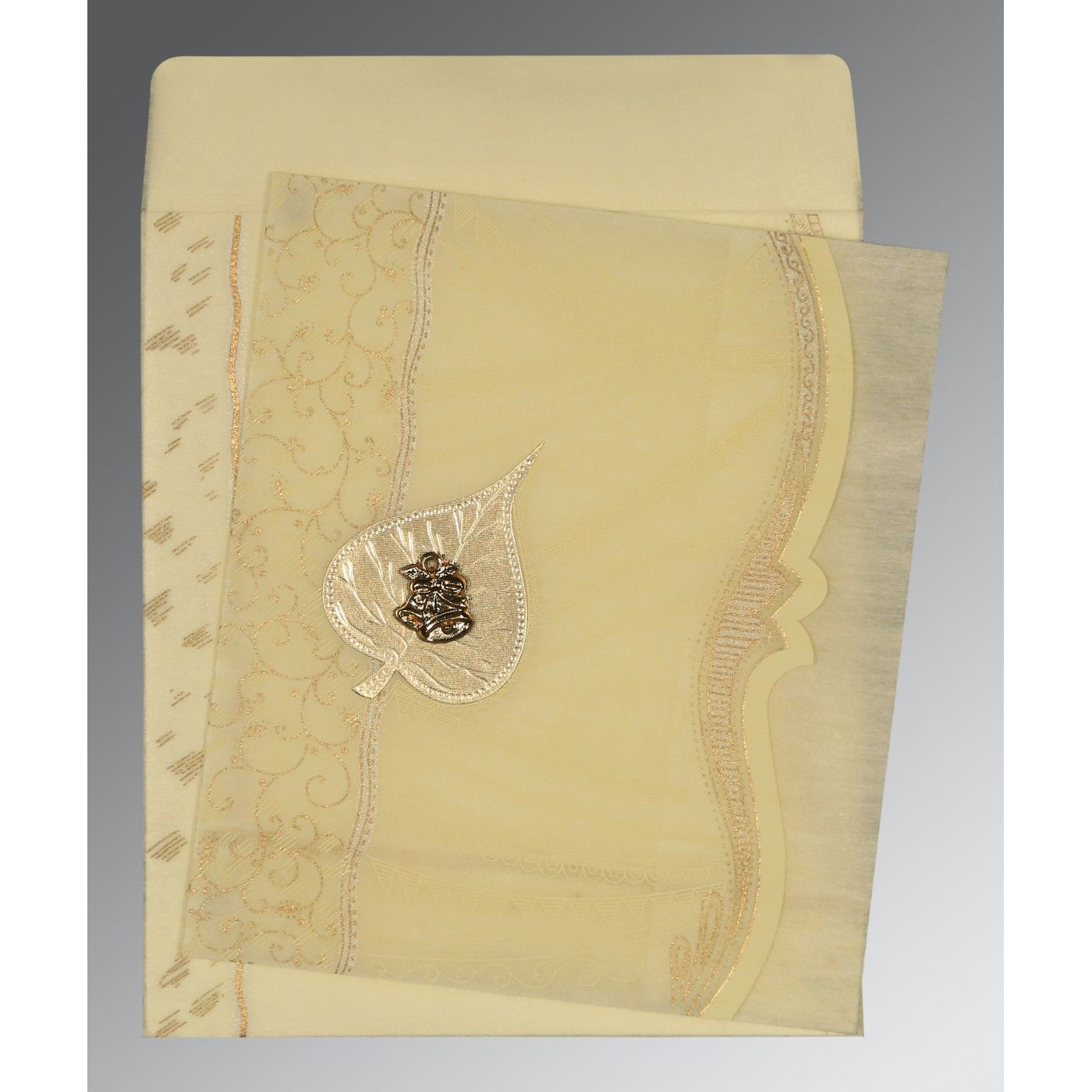 WEDDING CARD : CC-8210C - IndianWeddingCards