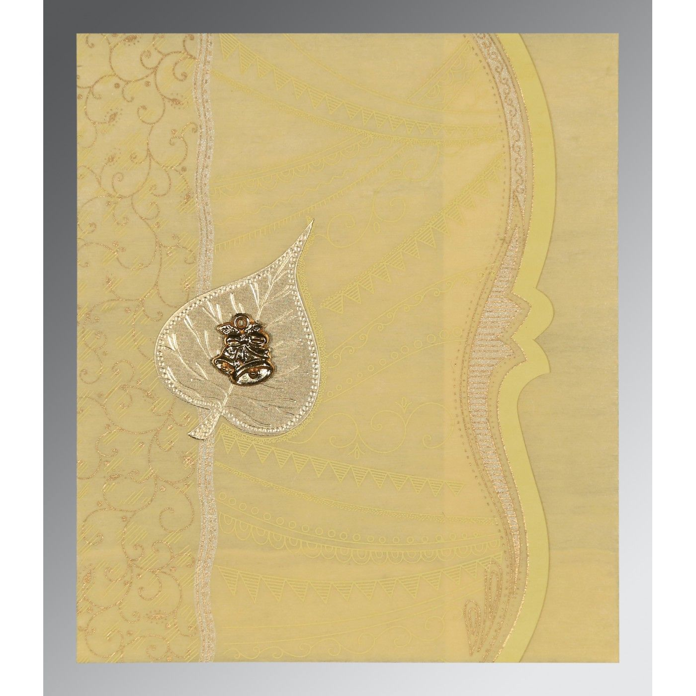 WEDDING CARD : CC-8210G - IndianWeddingCards