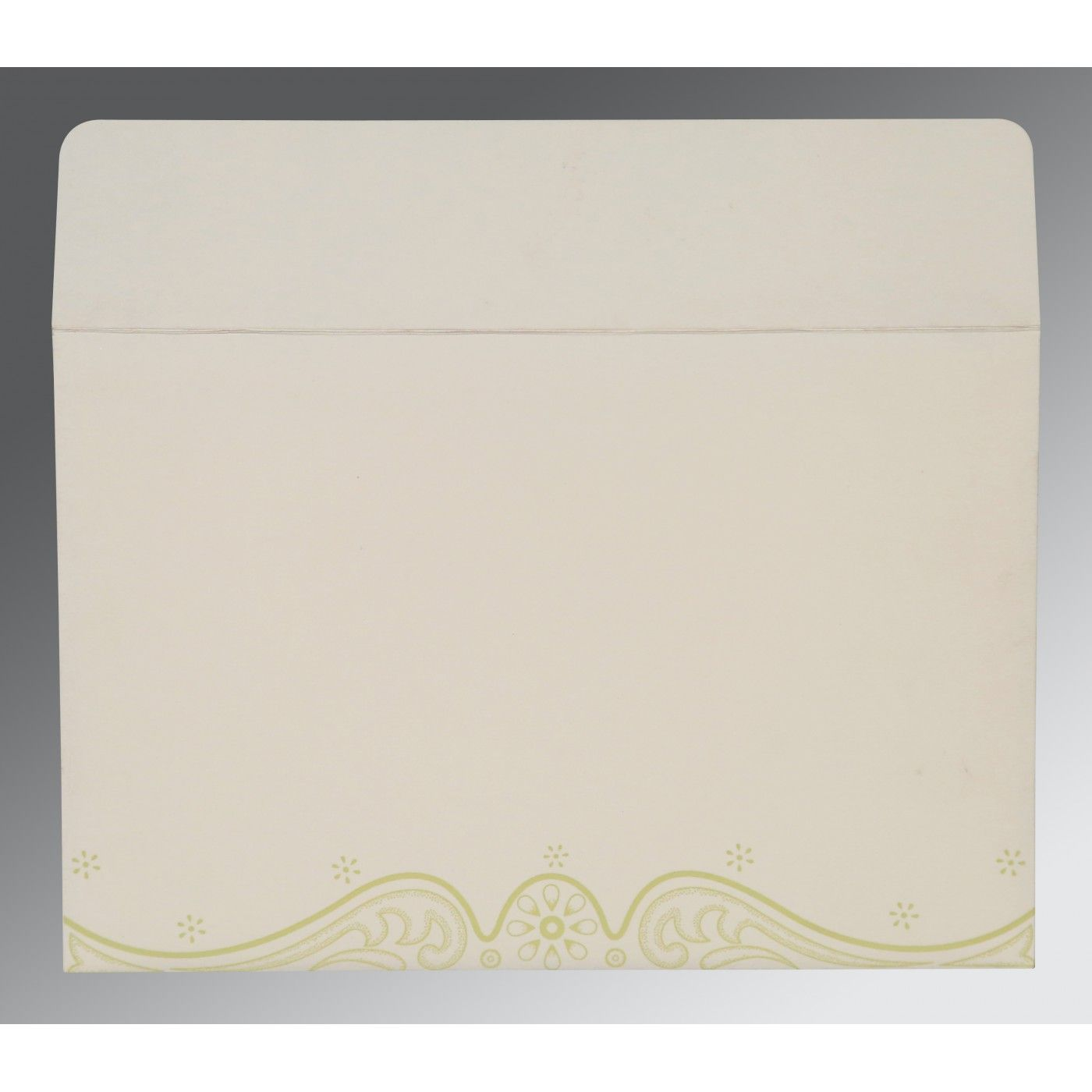 MUSTARD YELLOW MATTE EMBOSSED WEDDING INVITATION : CSO-8221K - IndianWeddingCards
