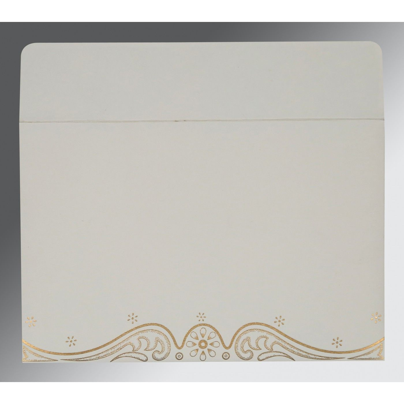 CHAMOISEE MATTE EMBOSSED WEDDING INVITATION : CW-8221I - IndianWeddingCards