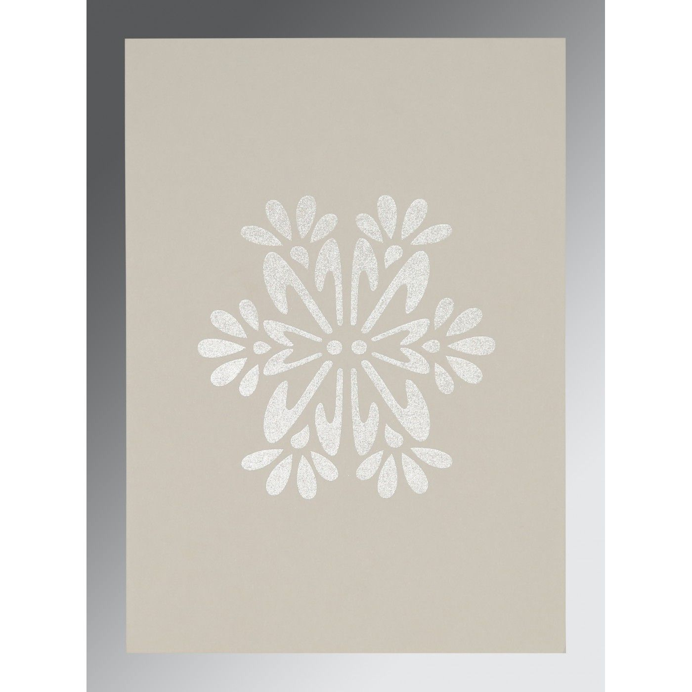CHELSEA GEM MATTE FLORAL THEMED - FOIL STAMPED WEDDING INVITATION : CIN-8237J - IndianWeddingCards