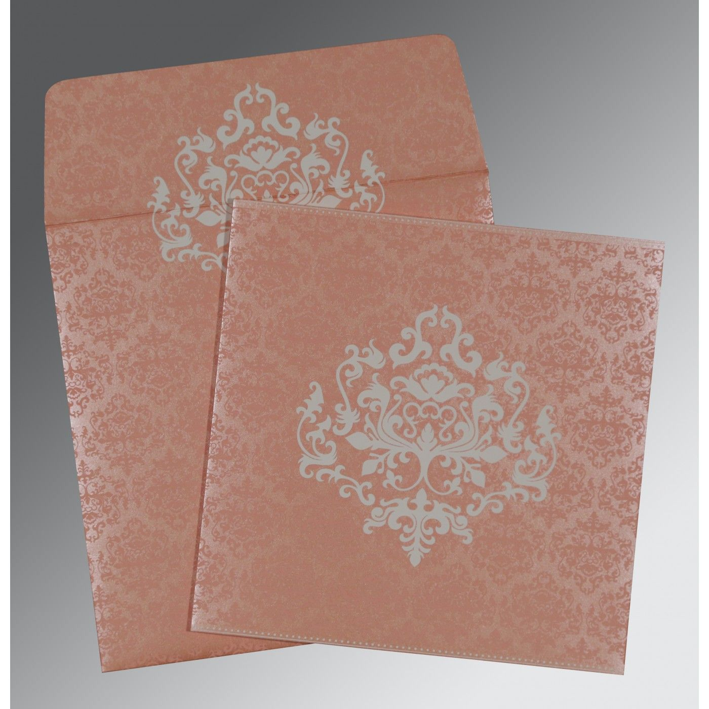 WEDDING CARD : CC-8254G - IndianWeddingCards
