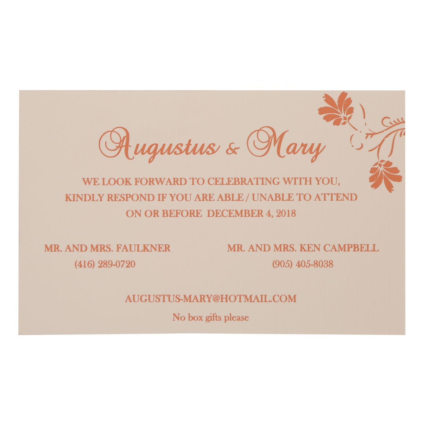 SALMON SHIMMERY SCREEN PRINTED WEDDING INVITATION : CG-803C - IndianWeddingCards