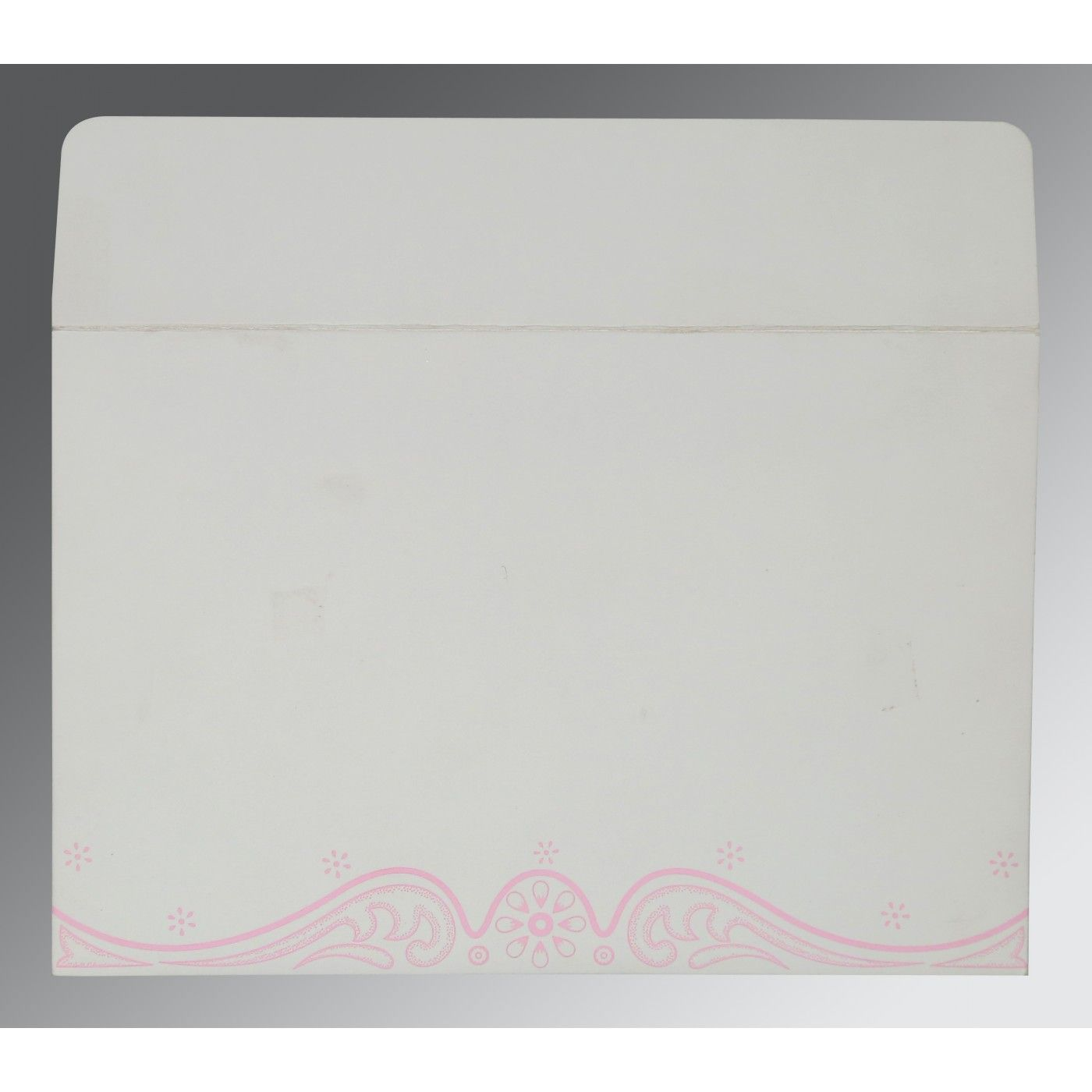 PINK MATTE EMBOSSED WEDDING INVITATION : CIN-8221M - IndianWeddingCards