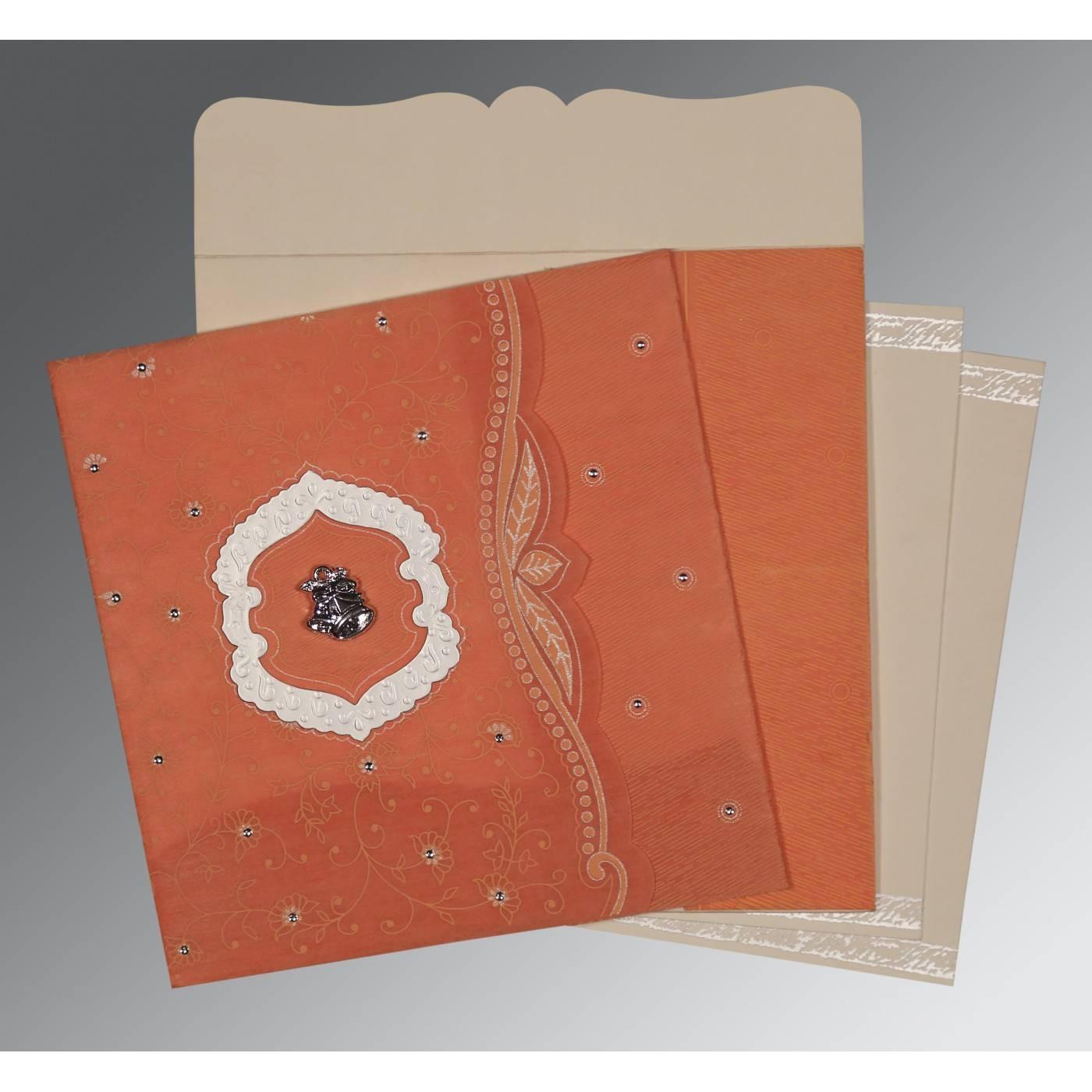 WEDDING CARD : CC-8209A - IndianWeddingCards