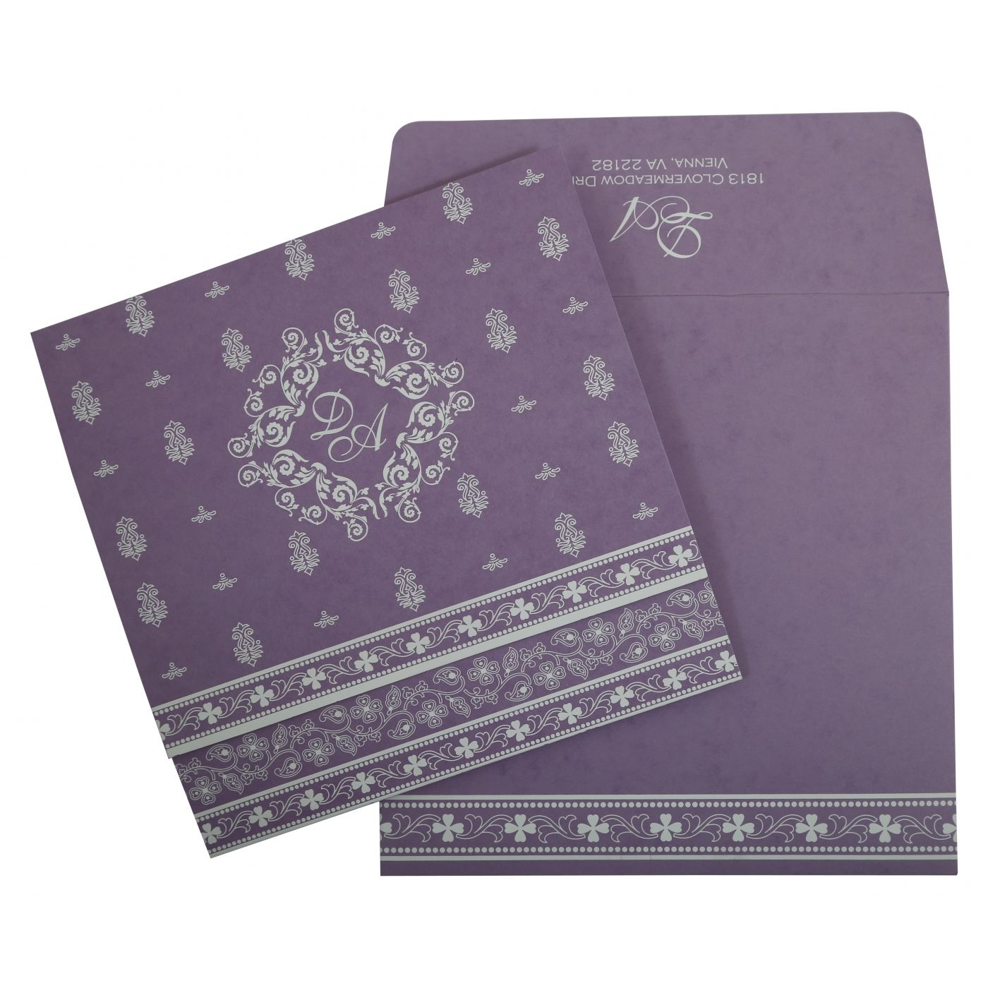 WEDDING INVITATION : CC-808E - IndianWeddingCards