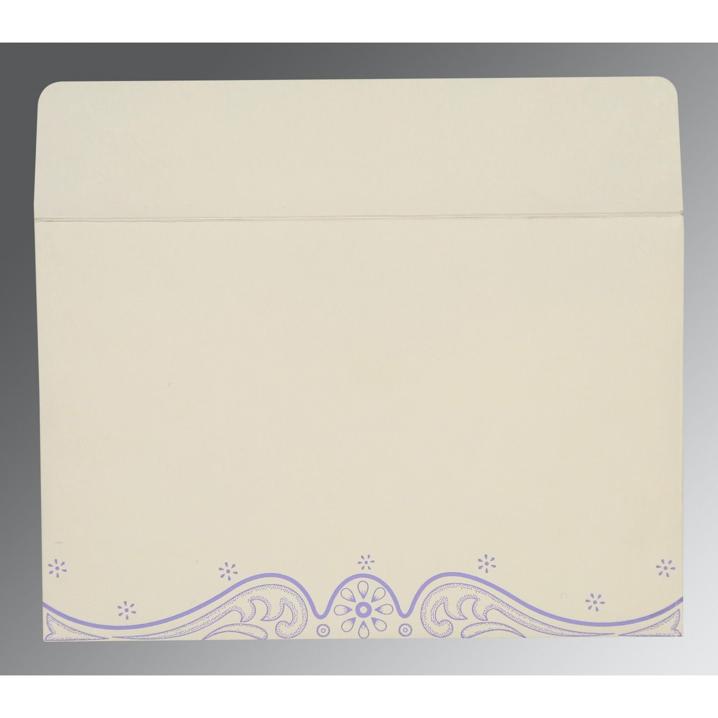 PINK PURPLE MATTE EMBOSSED WEDDING INVITATION : CG-8221E - IndianWeddingCards