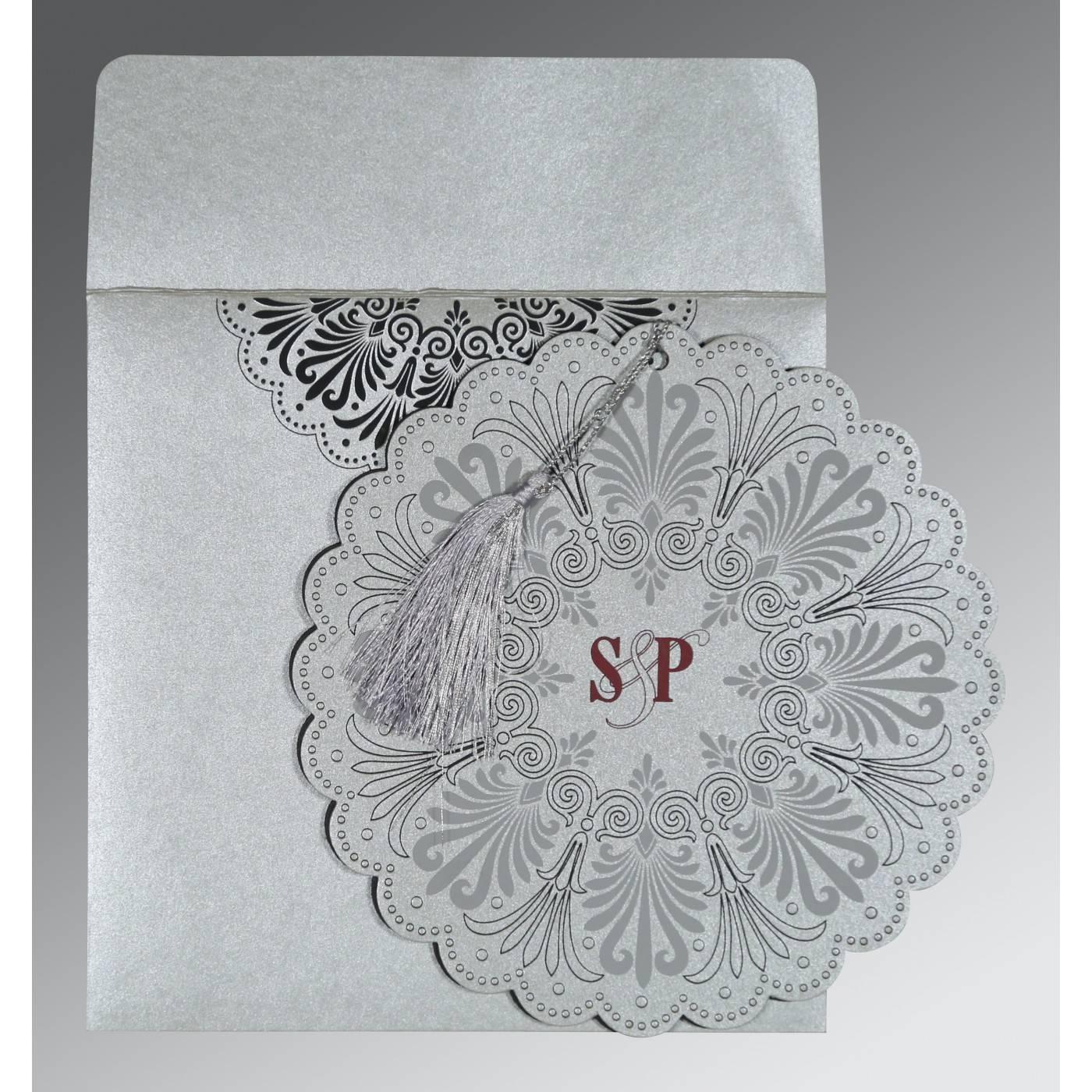 WEDDING CARD : CC-8238A - IndianWeddingCards