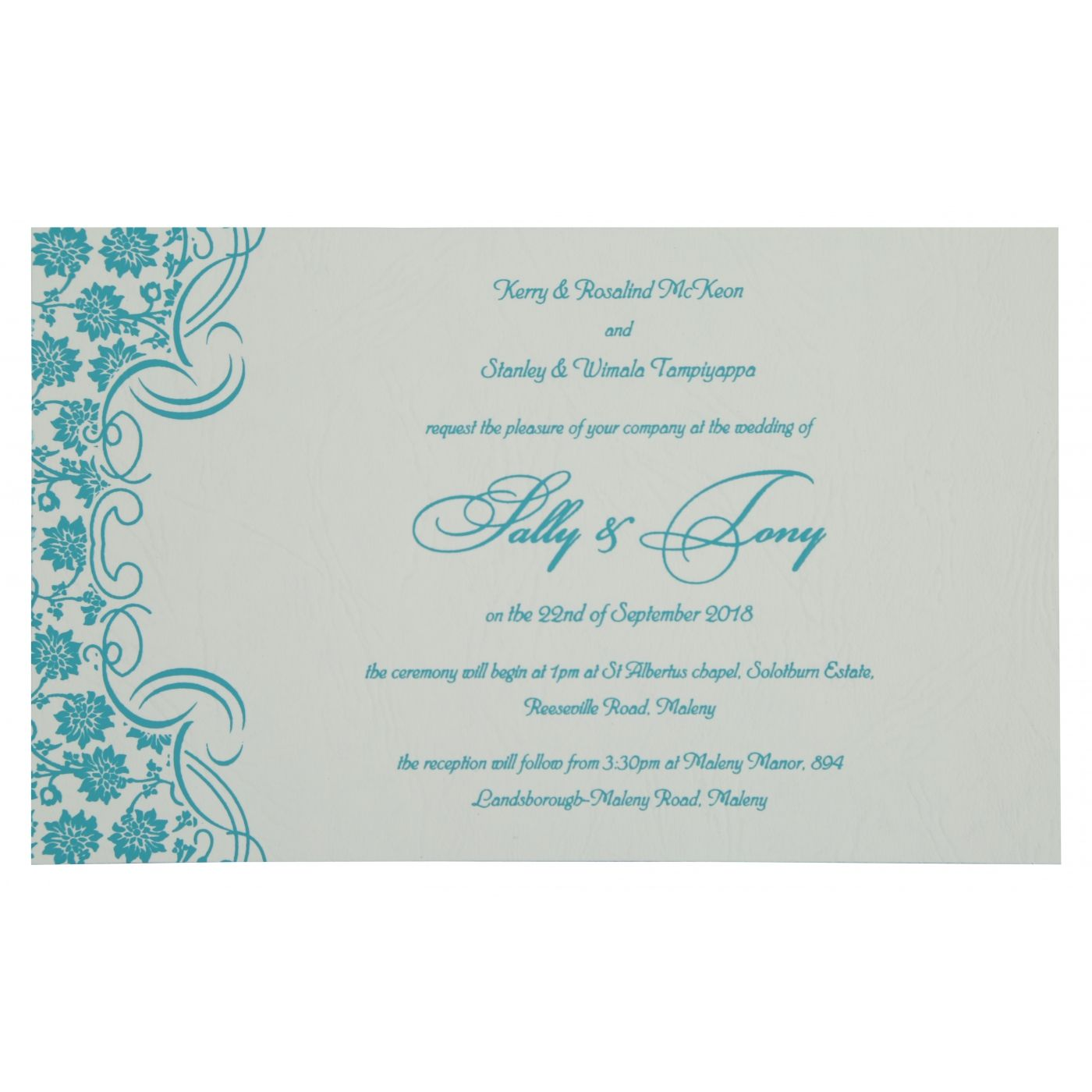 WEDDING INVITATION : CC-810E - IndianWeddingCards