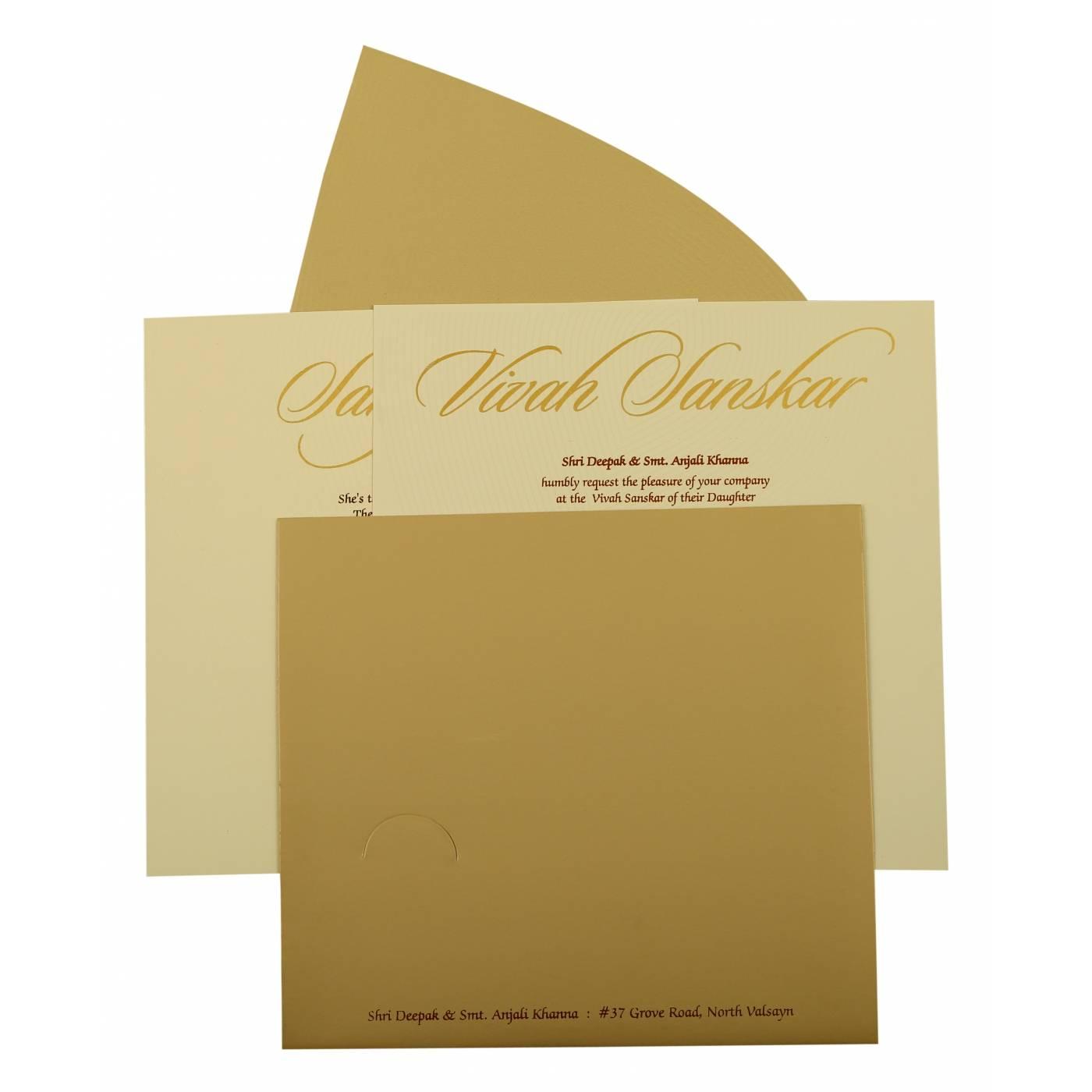 UNIQUE THEMED WEDDING INVITATION : CSO-1879 - IndianWeddingCards