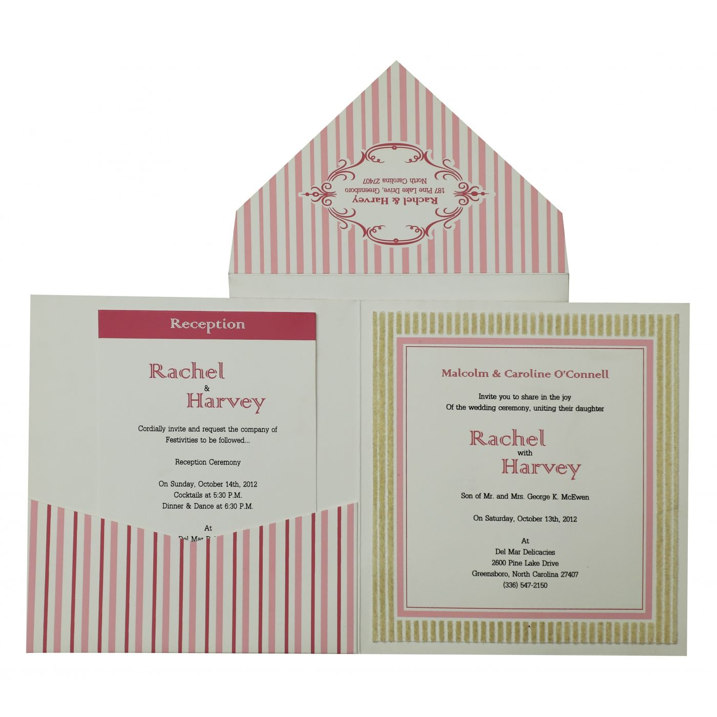 WHITE MATTE SCREEN PRINTED WEDDING INVITATION : CS-827 - IndianWeddingCards