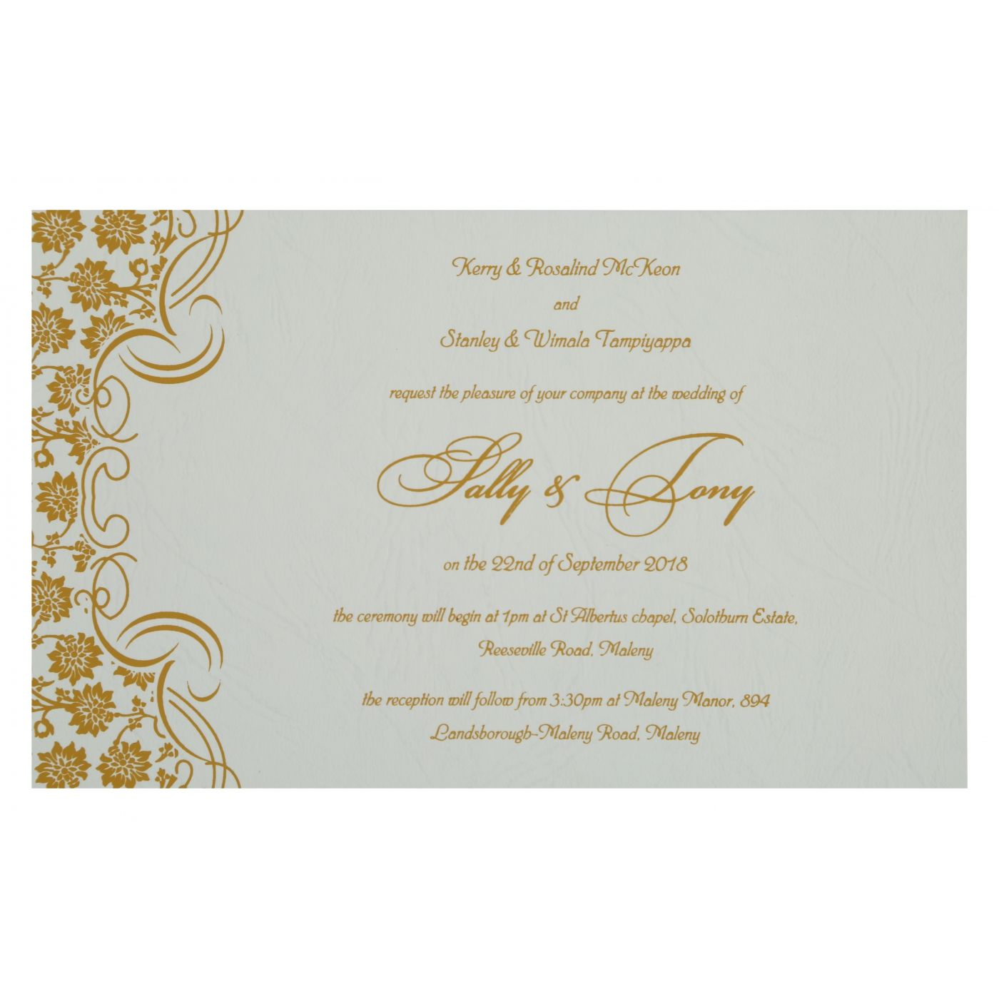 WEDDING INVITATION : CC-810C - IndianWeddingCards