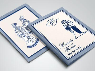 Program Booklets Designs-123WeddingCards