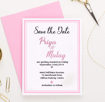 Save the date-123WeddingCards