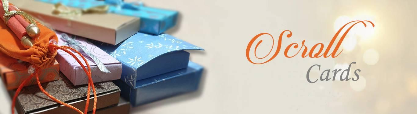 Scroll Card Invitations by 123WeddingCards