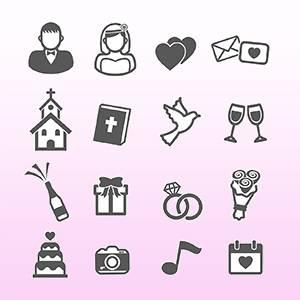 Free Wedding Symbols -123WeddingCards