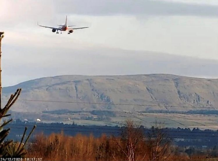 EZY Landing rnwy 05