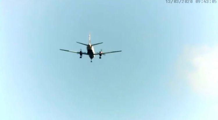 Saab Landing