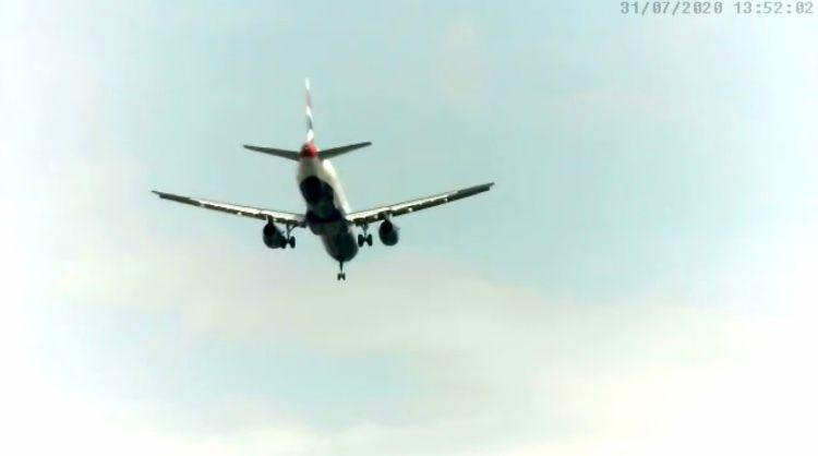 BA A321 arr 05