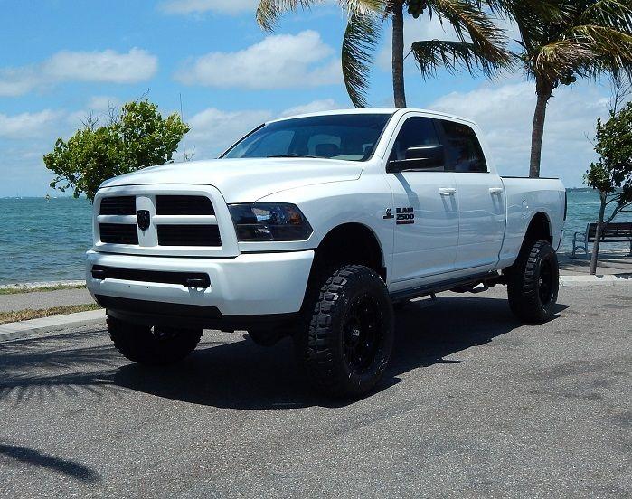 Diesel power 2012 Dodge Ram 2500 SLT lifted truck