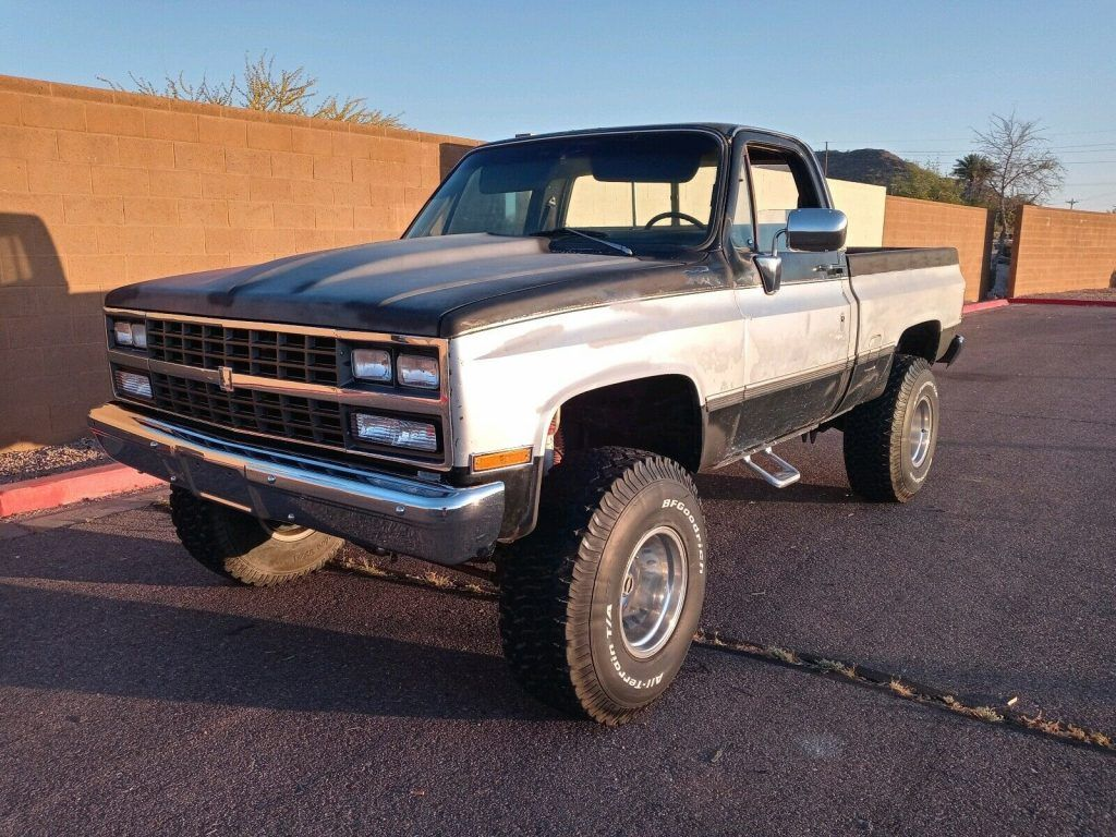 1985 Chevrolet K10 Short bed lifted [crate engine]