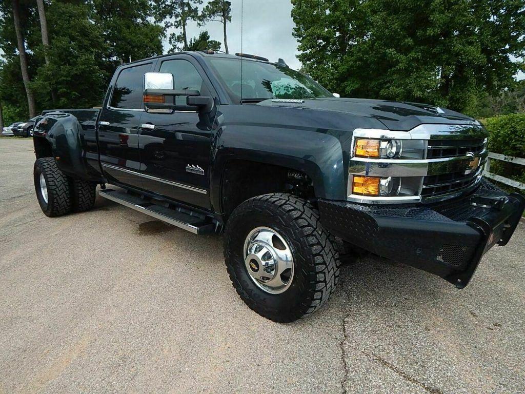 2018 Chevrolet Silverado 3500 High Country lifted [non smoker vehicle]