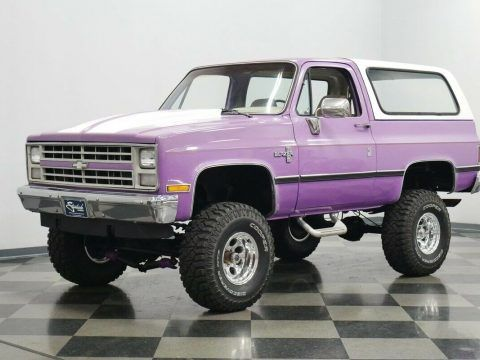 1987 Chevrolet Blazer K5 4×4 lifted [classic vintage square body] for sale