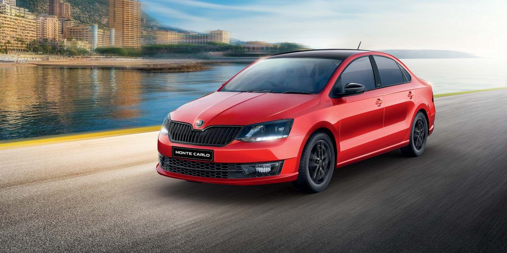 Skoda India Re Launched The Skoda Rapid Monte Carlo In India