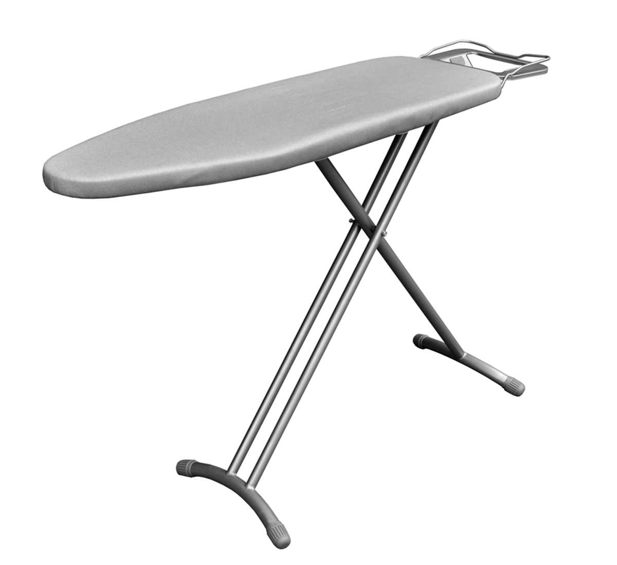Extra Large Ironing Board with Ironing Rest, Height Adjustment