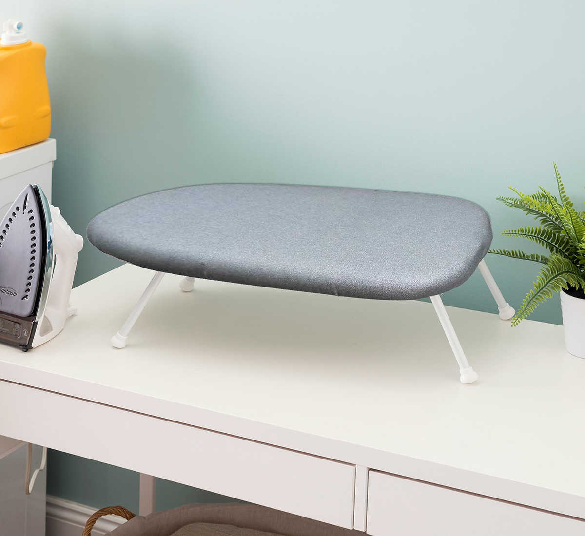 Multifunction Foldable Tabletop Bed Ironing Board with Hanging Hook