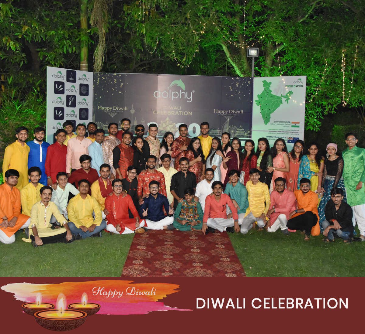 Dolphy Diwali 2020 Celebration