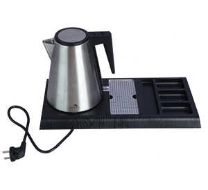 SS Electric Kettle with Tray