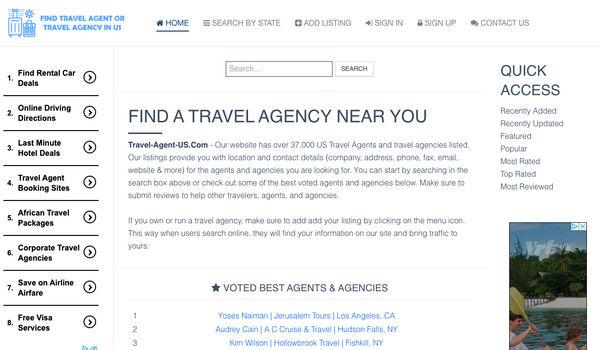 Travel Agent Us