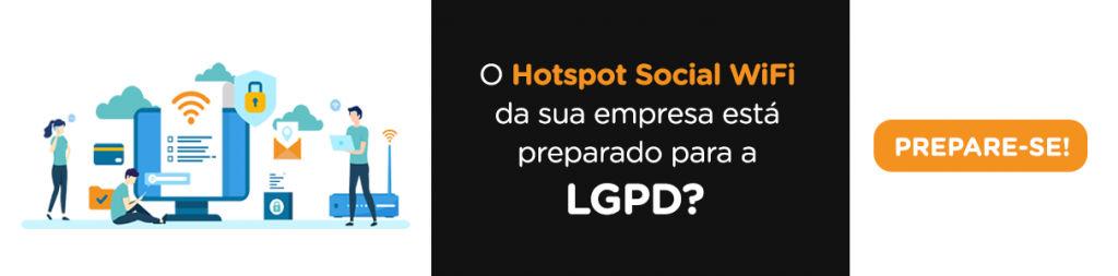 hotspot social lgpd