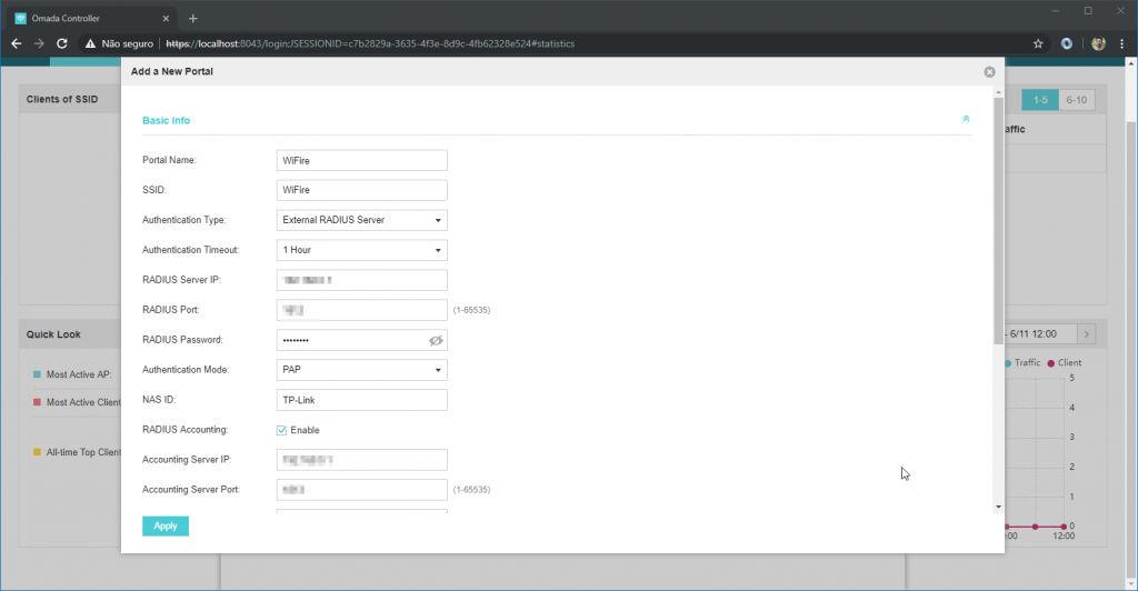 TP-Link Omada New Portal