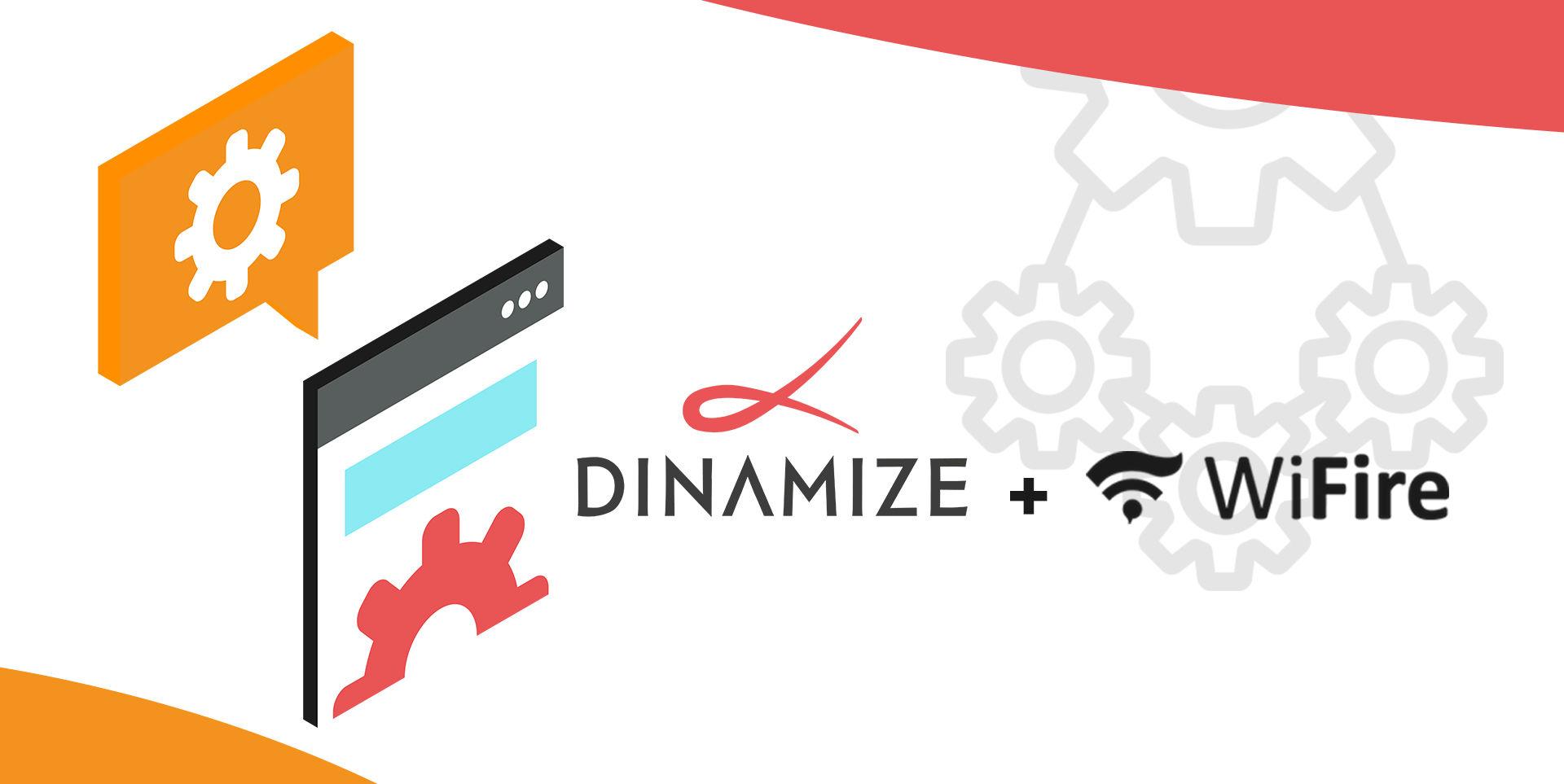 integração dinamize wifire