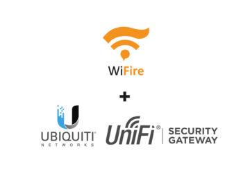 integração unifi security gateway