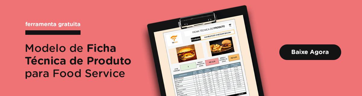 modelo de ficha técnica de produto para restaurantes