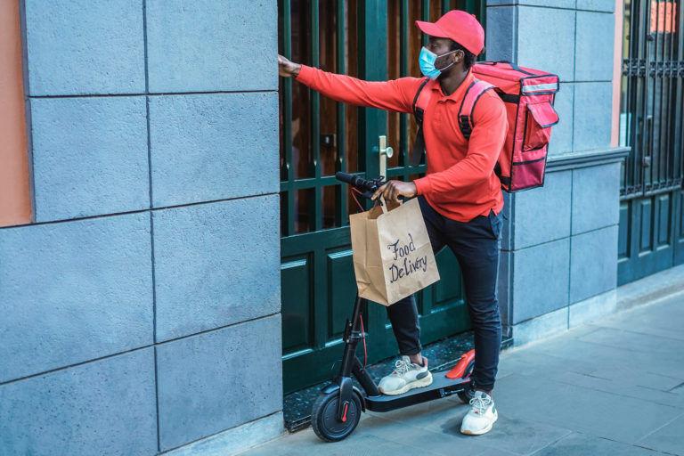 entregador de delivery