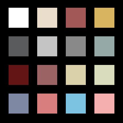 колір вікон Генео