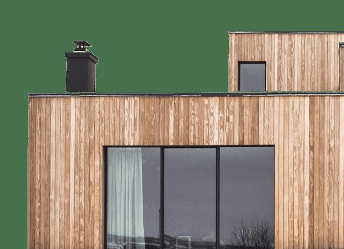 Потрійне вікно в будинку