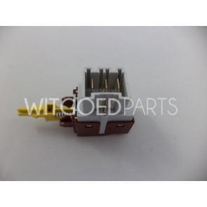 AEG druktoets aan / uit schakelaar korte stift voor wasmachine witgoedpartsnr: 1249271105