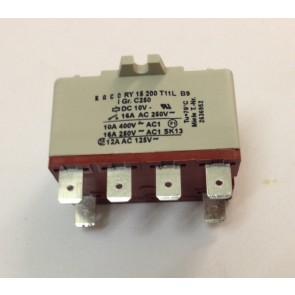 Miele Verwarmings relais 6 kontacten witgoedpartsnr: 2636952