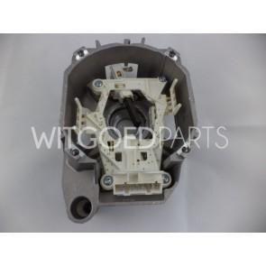 Bosch / Siemens Koolborstel in motorhuis 8 contacten voor wasmachine witgoedpartsnr: 496875