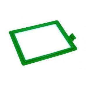 Micro filter EF17 Cassette Dun Word gebruikt in diverse Electrolux AEG stofzuigers waaronder de Z1915 S-Class Praxio Inhoud: 1 stuks