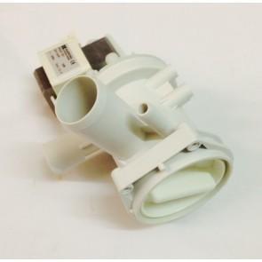 Bosch / Siemens Magneet afvoerpomp met pomphuis voor wasmachine witgoedpartsnr: 144487/org